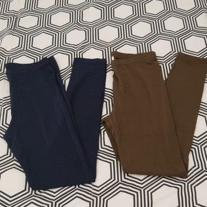 Forever 21 leggings(2 pairs)
